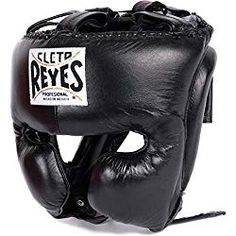 Cleto Reyes Headgear with Cheek Protection - Black L Boxing Fighter MMA Muay Thai Kickboxing Fitness Workout Taekwondo Equipment, Martial Arts Training Equipment, Mma Equipment, Sports Equipment, Kick Boxing, Boxing Gym, Mma Boxing, Judo, Boxing Boots