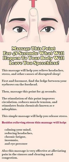 Acupuncture For Stress Massage This Point For 45 Seconds: What Will Happen To Your Body Will Leave You Speechless! (Psoas Release New Years) Massage Tips, Massage Benefits, Massage Therapy, Facial Massage, Baby Massage, Sinus Massage, Acupuncture Benefits, Health Facts, Health Tips