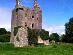 Derryhivenny Castle located near Portumna in County Galway was built in 1643 and withstood a number of battles in this area.