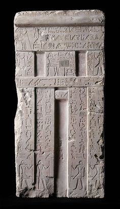 False door from the tomb of Metjetji Period: Old Kingdom Dynasty: Dynasty 5–6 Reign:reign of Unis or slightly later @Matt Valk Chuah Met
