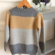 Stripe Raglan Sweater - Women Opskrifter Go Handmade Raglan, Girls Sweaters, Sweaters For Women, Cardigans, Abs Women, Knit Or Crochet, Crochet Toys, Circular Needles, Drops Design