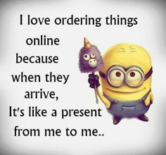 ...and Usually Ive forgotten what I ordered.... Surprise gift! ... that I want!!!