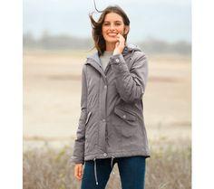 Parka s kapucí Parka, Rain Jacket, Windbreaker, Raincoat, Jackets, Fashion, Tunic, Down Jackets, Moda