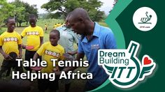 O esporte tem um enorme poder transformador!! Table Tennis Helping Africa