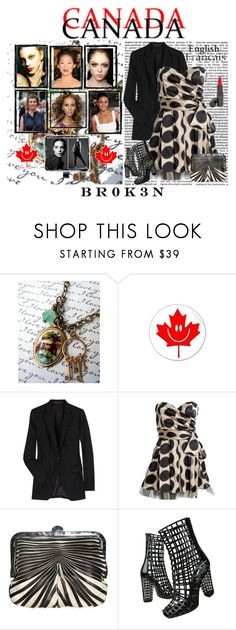 """""""Canadians in the modeling and film industry"""" by br0k3n ❤ liked on Polyvore featuring Iman, Grey's Anatomy, Theory, Dolce&Gabbana, Yves Saint Laurent, Shiseido and canada"""