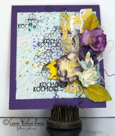 Create without limits: Kocmoc Card - Artelier Paper Guest Designer