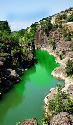 Venetiko river, Grevena, W Macedonia, Greece Places Around The World, Oh The Places You'll Go, Places To Travel, Places To Visit, Around The Worlds, Wonderful Places, Beautiful Places, Olympic National Forest, Belleza Natural