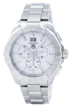 Watchoria America's trusted retailer for the finest quality designer watches, jewelry, bags, shoes & clothing online. Stainless Steel Bracelet, Stainless Steel Case, Tag Heuer Glasses, Tag Heuer Aquaracer Chronograph, Online Watch Store, Vintage Watches For Men, Watch Sale, Casio Watch, Rolex Watches