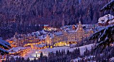 Whistler Village, So beautiful! About 4 hours north of Ft. Lewis in Canada.