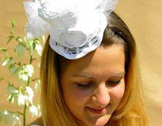 Wedding tophat by Ozmonda Wedding Hats, Art Direction, Fascinator, Fashion Photography, Behance, Gallery, Check, Headdress, Roof Rack