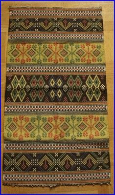 Scandinavian weaving... Very old motif