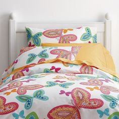 Butterfly Dreams Percale Bedding