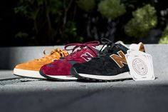 """NEW BALANCE """"REAL ALE PACK"""" avaialable at www.tint-footwear.com/catalogsearch/result/?q=real+ale new balance made in england leather retro running tennis sneaker tint footwear studio munich"""