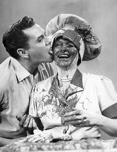 Lucille Ball with Desi Arnaz