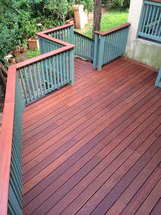 Massaranduba deck built for a client here in Austin.