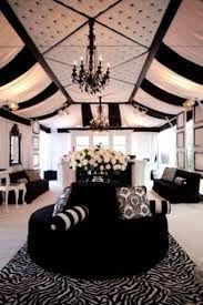 decoração casamento preto prata e branco - Pesquisa Google