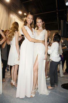 runaway on the runway 2014 Trends, Karlie Kloss, Bridesmaid Dresses, Wedding Dresses, Spring 2014, Backstage, Catwalk, Behind The Scenes, Runway