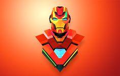 Helmetica by Justin Maller, via Behance