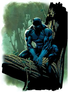 The Black Panther: Art Gallery // character created by Jack Kirby and Stan Lee for Marvel Comics Featuring The Artwork Of: Dave Wilkins Joe Jusko Liam Sharp John Romita Jr. Black Panther Marvel, Black Panther Storm, Black Panther Art, Panther Print, Black Art, Marvel Comic Character, Comic Book Characters, Comic Book Heroes, Marvel Characters
