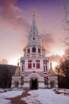 Shipka Memorial Temple near Kazanlak, Bulgaria