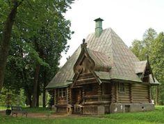 Баня – теремок, арх. Ропет И.П.,1877–1878 гг.   Неорусский стиль (национально-романтическая ветвь модерна)