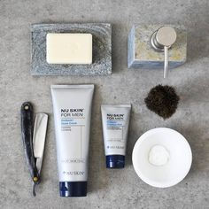 If you're looking for a gift for a man in your life or are a man after a new shaving set...look no further! 💪🏻 . Dividends Shaving Cream: Dividends Shave Cream allows you to Cleanse, Exfoliate and Condition all in one easy step. It gently removes dirt and oil and optimise razor glide for a clean, smooth shave, leaving you fresh for the day ahead! 💪🏻 . Dividends Aftershave Balm: This lightweight balm makes facial hair softer, finer and less noticeable, extending the results of your… Mens Shaving Cream, Shaving Set, Man Shaving, Nu Skin, Extra Skin, Urban Beauty, After Shave Balm, Exfoliant, Peeling