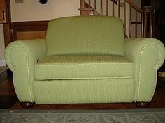 Reupholstery 101..thx mom!