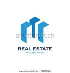 Real estate construction logo. modern template design.vector icon illustration