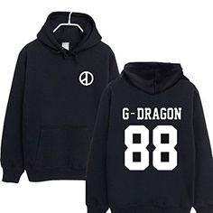 Fashion Autumn Winter Kpop Bigbang Gd Taeyang Good Boy Baseball Jacket Single Breasted Hoodie Jacket Plus Size Outwear Jackets & Coats Women's Clothing