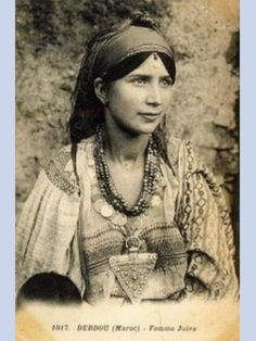 women from Debdou (Morocco, 1917) by Mohamed Al theeb, via Flickr