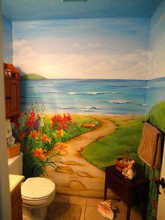 www.JMS-ART.com  AFTER - A Seaside Garden! by jms artist, via Flickr