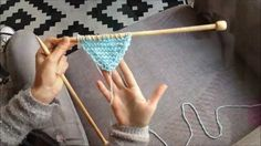 Tuto tricot : augmentations du trendy châle - Pour Mes Jolis Mômes
