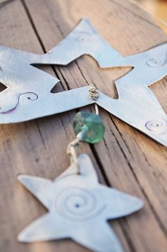 Upcycled Aluminum Star Ornament