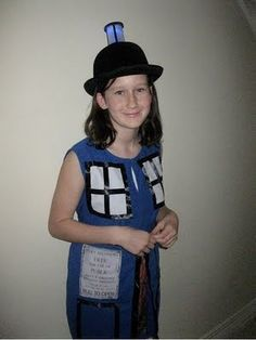 Awesome TARDIS Halloween costume
