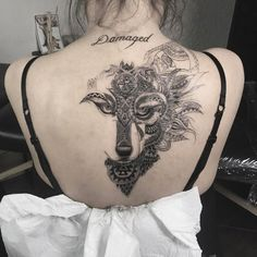Large back piece in progress by Mona Carb