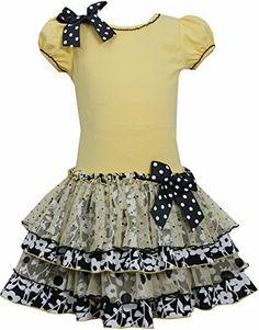 Yellow Black White Knit to Mix Print Tier Drop Waist Dress YL3SA, Yellow, Bonnie Jean Little Girls 4-6X Special Occasion, Flower Girl Social Party Dress Bonnie Jean http://www.amazon.com/dp/B00KY48NMY/ref=cm_sw_r_pi_dp_2AZMtb1XPCQQSQWQ