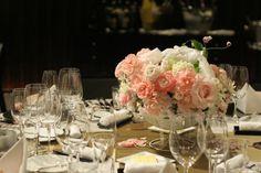 バラとマカロン レースとピンク ホテルフォーシーズンズホテル丸の内様へ