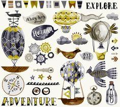 The amazingly talented Katie Vernon VIA ILLUSTRATION - katie vernon #art + #illustration