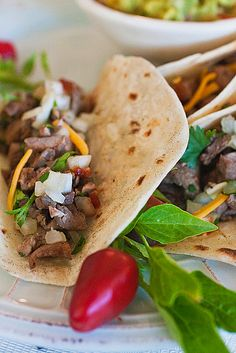 Carne Asada Tacos: photo by Jackie Alpers | Jackie's Happy Plate: A food photography and healthy recipe blog from Jackie Alpers