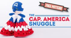 Captain America Snuggle