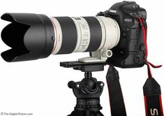 Canon EF L IS II USM Lens on EOS Mark IV Camera. For more images and information on camera gear please visit us at www.The-Digital-P. Best Camera For Photography, Photography Camera, Photography Tips, Landscape Photography, Wedding Photography, Camera Hacks, Camera Gear, Canon Zoom Lens, Canon Ef