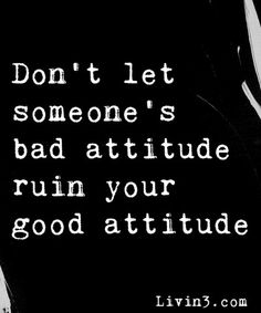 Bad attitudes are not welcome...if you don't like something, feel free to be a positive part of the solution.  Otherwise, quietly tip toe away :)