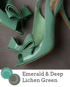 Pantone Fall 2013 Colour Report| Emerald & Deep Lichen Green | Source: BHLDN via A Crimson Kiss