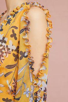 Slide View: 2: Shoshanna Silk Floral Blouse