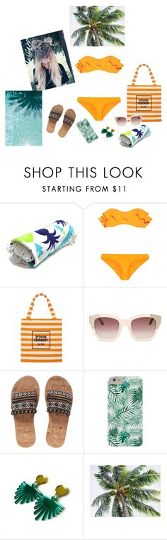 """""""Beachy vibes"""" by audrey-balt ❤ liked on Polyvore featuring Lisa Marie Fernandez and Opening Ceremony"""