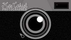 Camera Business Card With Camera On Front and by LilygramDesigns