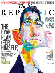 """The New Republic.""  Phillip Burke, Illustrator."