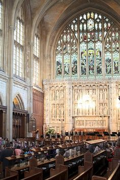 Cheltenham College Chapel. Photo by Anna Lythgoe