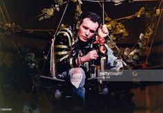 Adam Ant of Adam and the Ants performs on stage on his solo concert tour at Hammersmith Odeon on September 27th, 1985 in London, United Kingdom.