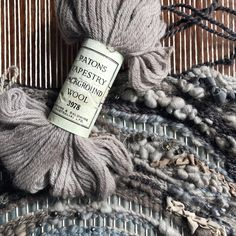 """156 Likes, 21 Comments - Joni (@wonderofweaving) on Instagram: """"Does anyone else lament over using vintage? I'm doing it! After much trepidation I'm cracking this…"""""""